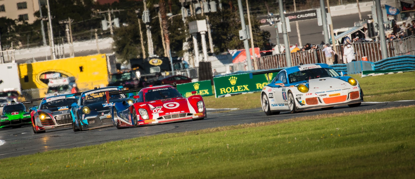 Indycar drivers to drive in the 2016 Rolex 24
